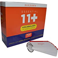 Foxton's 700 Vocabulary Flash Cards for the 11 Plus Exam with Synonyms & Antonyms 2018