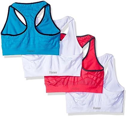 c4d424cd5ddb4 Hanes Women s Jogbra (Pack of 4) at Amazon Women s Clothing store