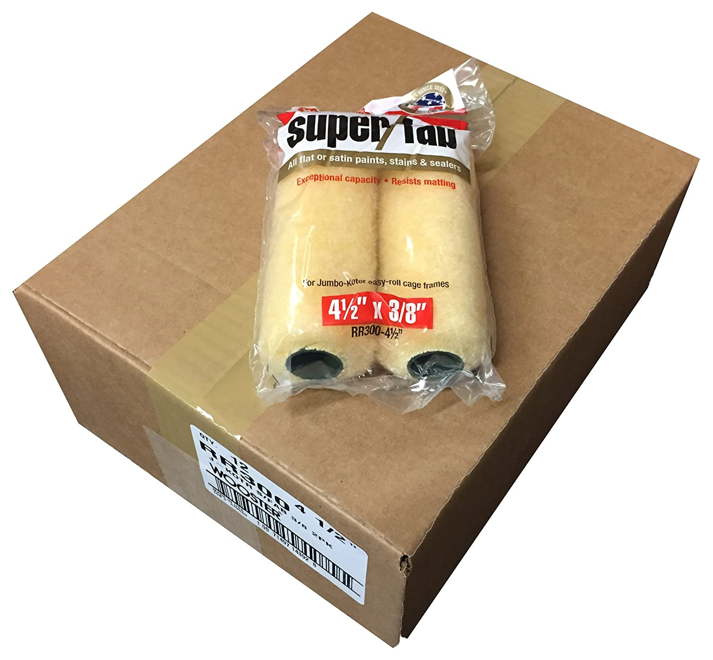 3//4-Inch Nap 2-Packs Wooster Brush RR309-4-1//2 Jumbo-Koter Super//Fab Roller