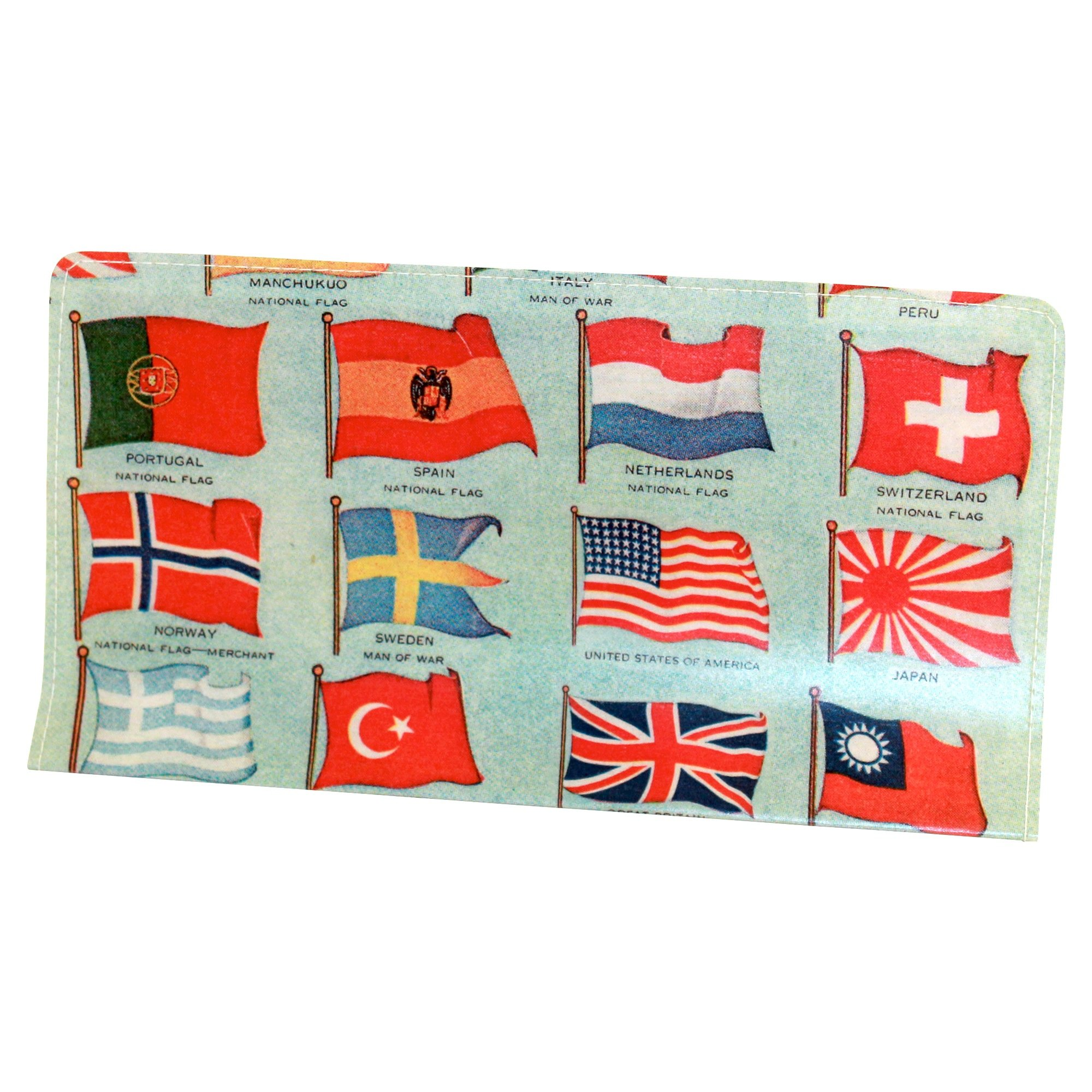 Flags of the World Checkbook Cover
