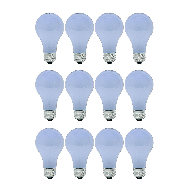 GE Lighting Reveal 40-Watt, A19 Light Bulb, 12 Pack