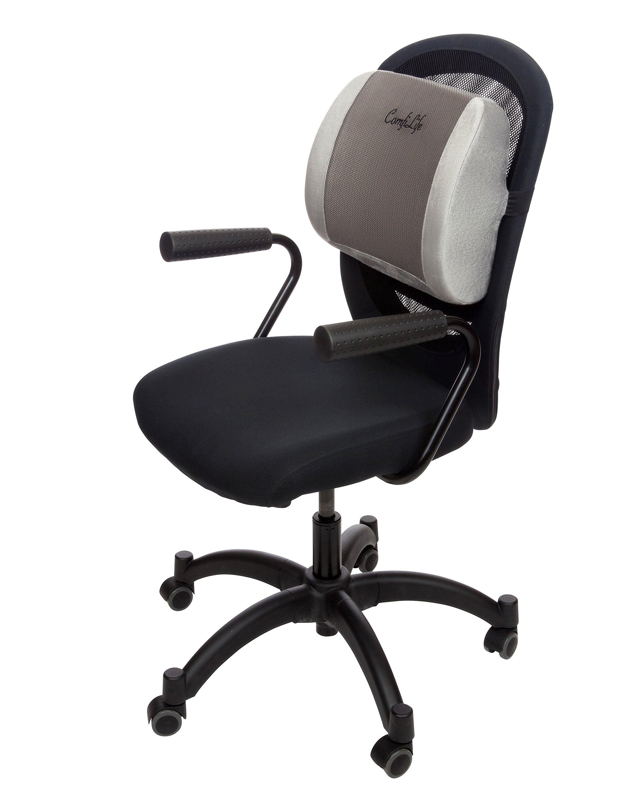 Galleon comfilife lumbar support back pillow office - Sillas ordenador amazon ...