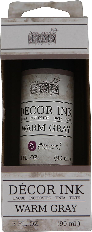 Prima Marketing Decor Ink - Warm Gray 3Oz