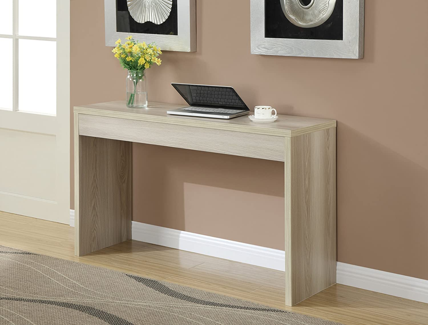 Amazon convenience concepts northfield hall console table amazon convenience concepts northfield hall console table weathered white kitchen dining geotapseo Image collections