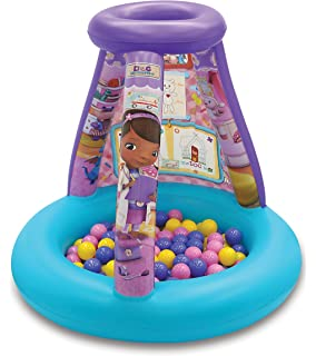 Doc Mcstuffins Color N Play Activity Ball Pit, 1 Inflatable & 20 Sof-