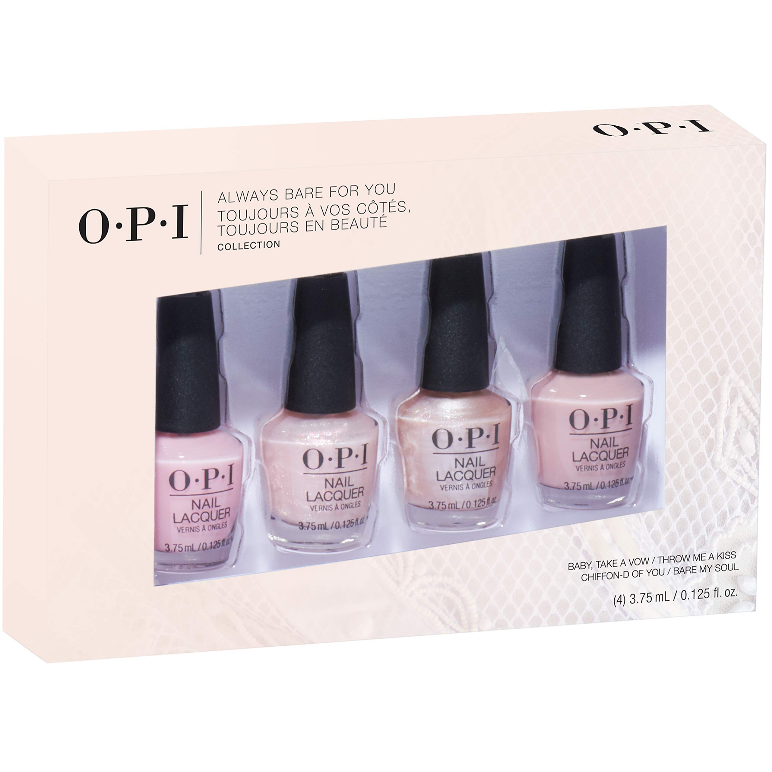 Opi Nail Polish Sheers Collection Nail Polish Gift Sets