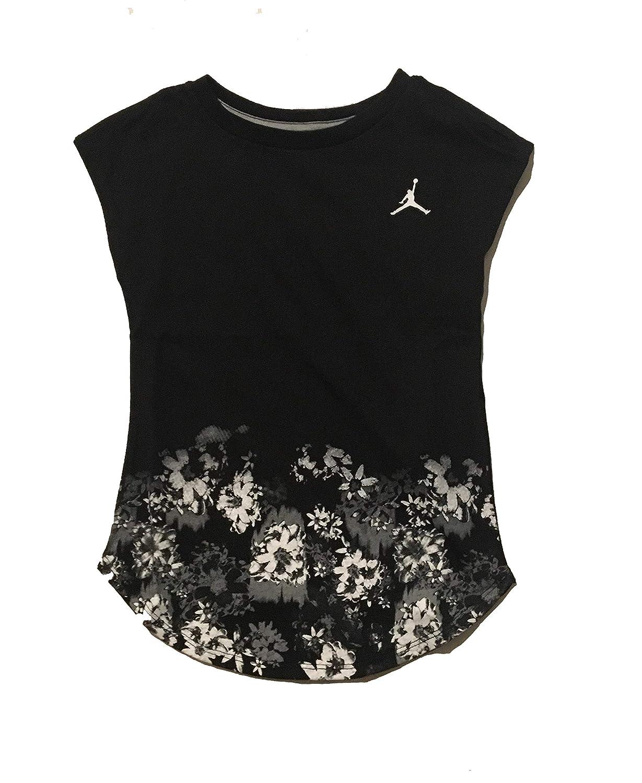 Jordan Toddler Girls Tee Shirt Black 3T