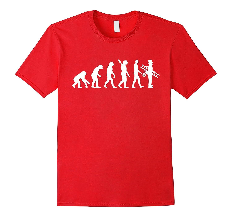 Evolution chimney sweep T-Shirt-PL