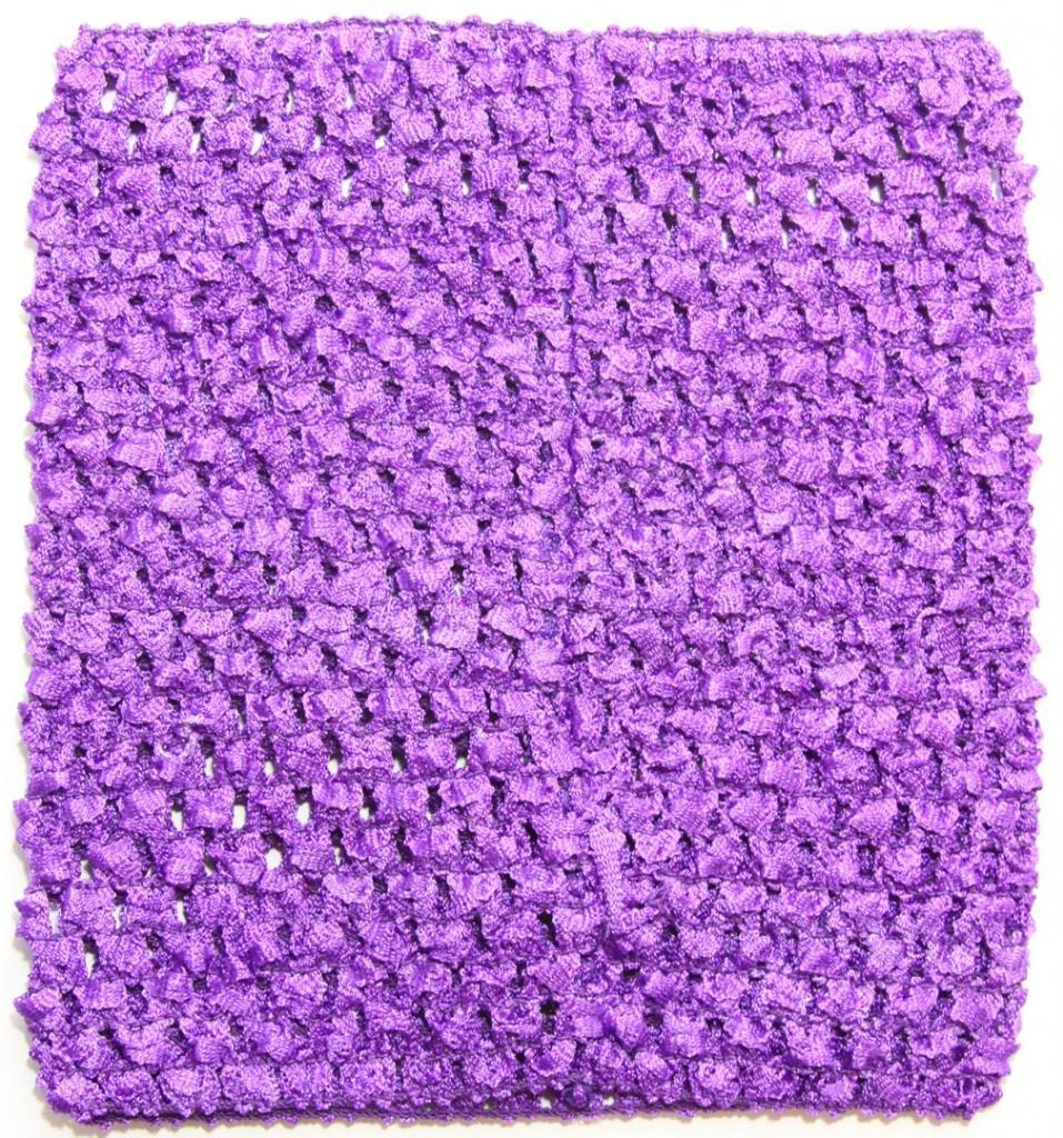 Dress Up Dreams Boutique 6 Crochet Tutu Top Purple One Size [Apparel] Wholesale Princess