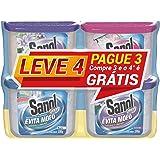 Evita mofo Sec Leve 4 Pague 3 - 1 Neutro/ 2 Lavanda/ 1 Baby Sanol 4 X 100G, Sanol, Colorido, 4 X 100 G