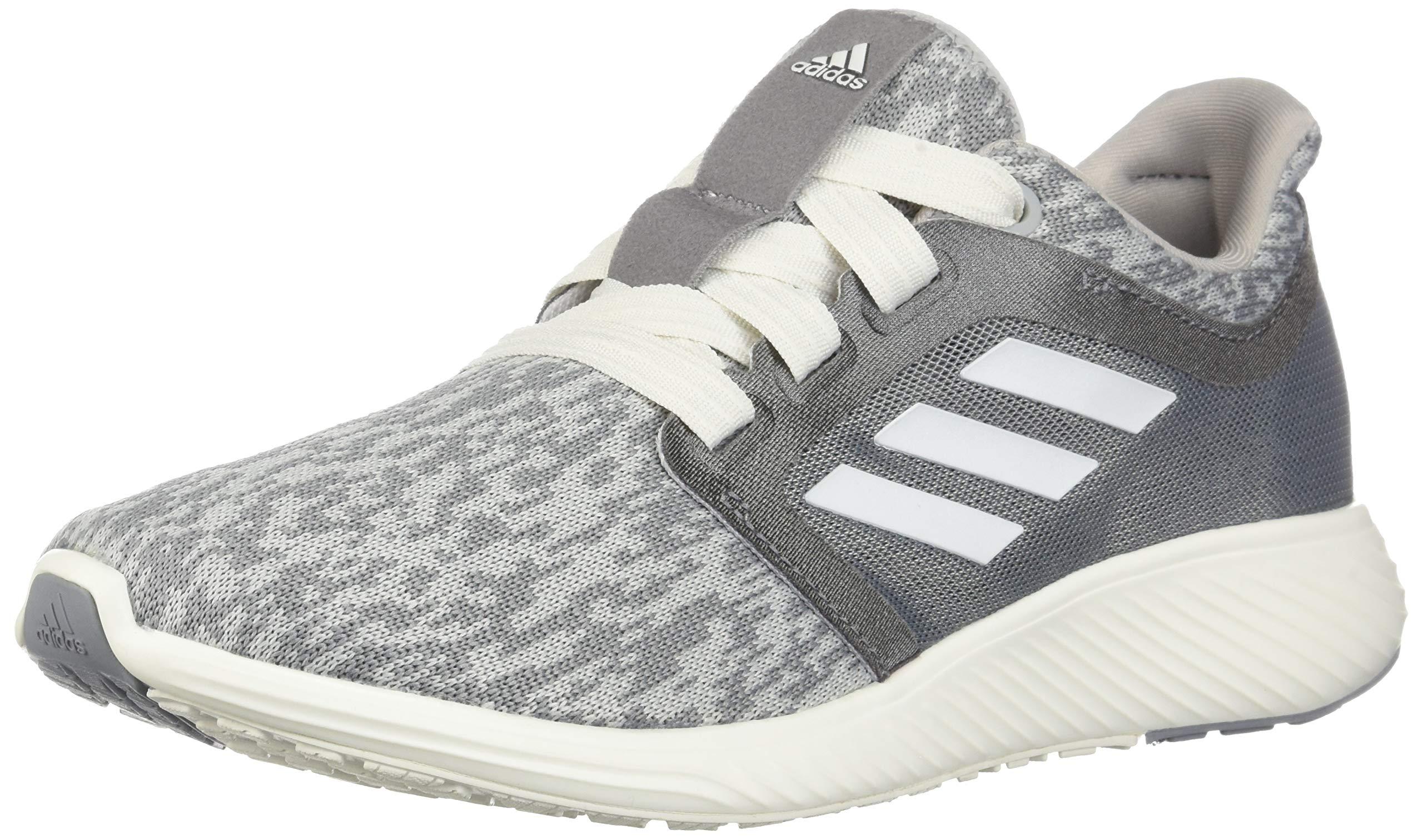 adidas Women's Edge Lux 3, Grey/Cloud White/Silver Metallic 5 M US