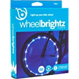 Wheelbrightz LED Bicycle Wheel Lights – Bright, Colorful Light for Bikes – Fits Front or Rear Tire – Weather-Resistant…