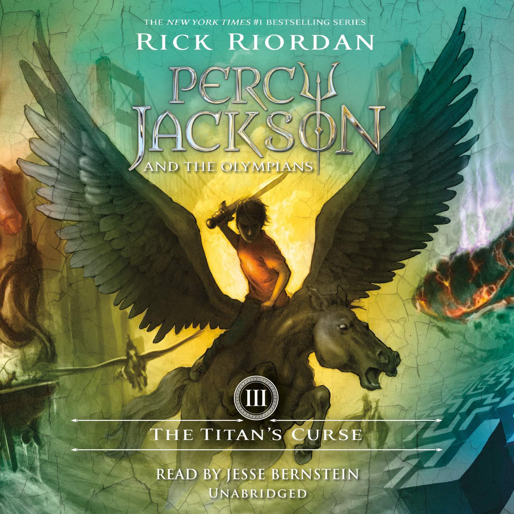 The Titans Curse: Percy Jackson and the Olympians: Book 3: Amazon.es: Riordan, Rick, Bernstein, Jesse: Libros en idiomas extranjeros
