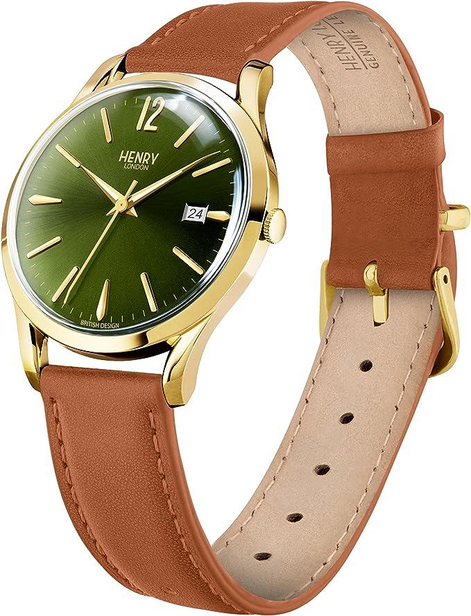 Henry London Reloj Análogo clásico para Unisex de Cuarzo con ...