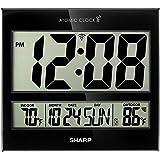 Sharp Atomic Clock - Atomic Accuracy - Never Needs Setting! - Jumbo 3