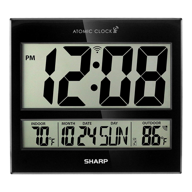 Amazon.com: Reloj atómico afilado, precisión atómica, nunca ...