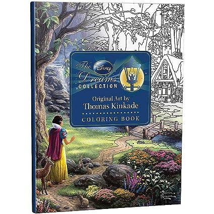 Amazon Com The Disney Dreams Collection Thomas Kinkade Coloring