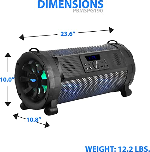 Pyle Bluetooth Boombox Street Blaster Stereo Speaker review