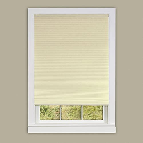 Achim Home Furnishings Cordless Honeycomb Cellular Pleated Window Shade