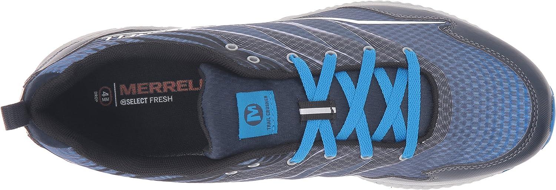 Merrell Men's Crusher Trail Runner Dark Slate