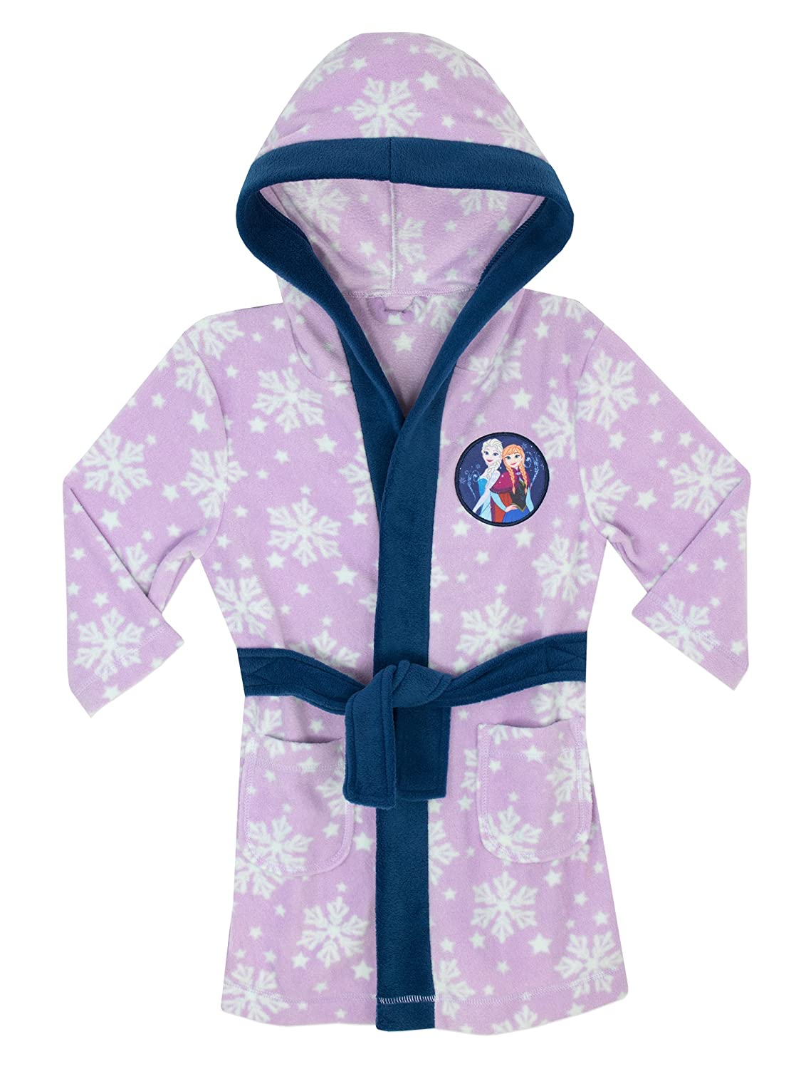 Disney Girls Frozen Dressing Gown Ages 2 to 10 Years