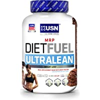 USN Diet Fuel Ultralean Weight Control Meal Replacement Shake Powder, Chocolate Cream, 2 kg