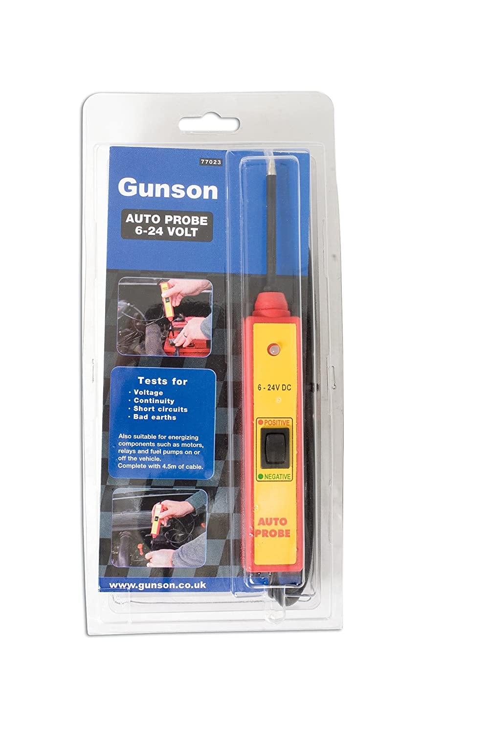 Gunson 77023 Auto Probe 6 24 Volt Car Motorbike Details About Sealey Pp1 12v Electrical Circuit Tester