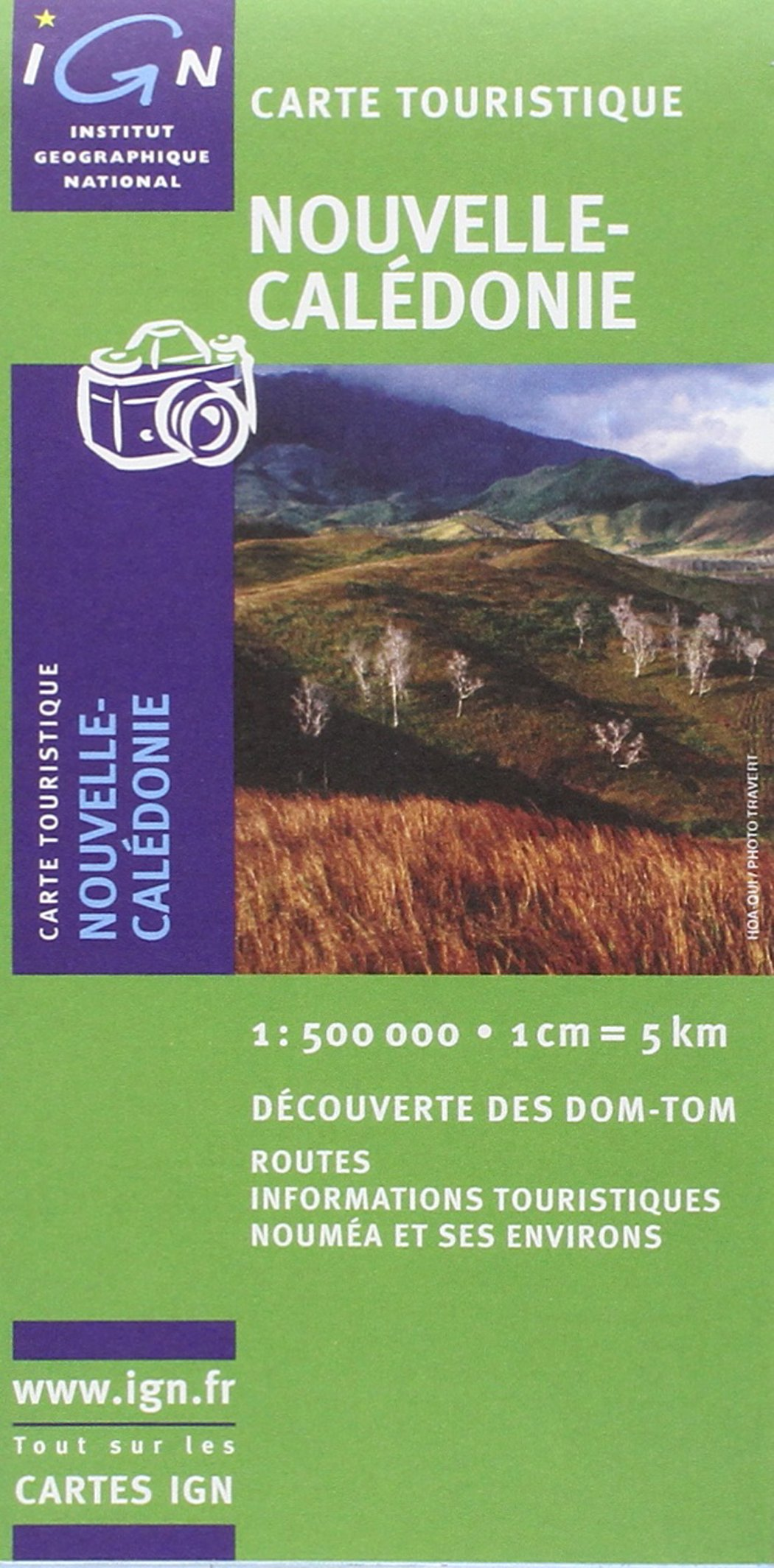 carte ign nouvelle caledonie