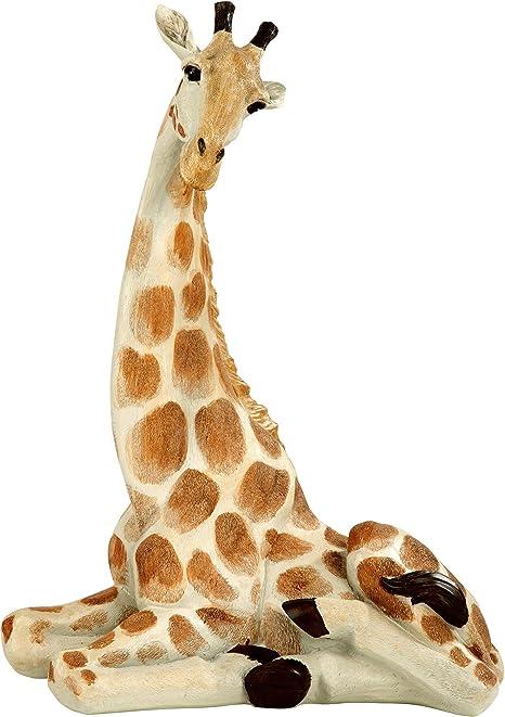 Amazon.com : Design Toscano EU1015 Zari The Resting Giraffe African Decor Garden Statue, 20 Inch, Full Color : Garden & Outdoor