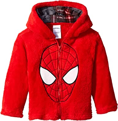 Spiderman Marvel Little Boys Jacket