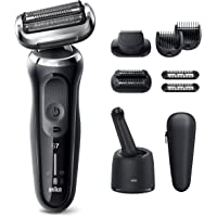 Braun Electric Razor for Men, Series 7 7085cc 360 Flex Head Electric Shaver with Beard Trimmer, Rechargeable, Wet & Dry…