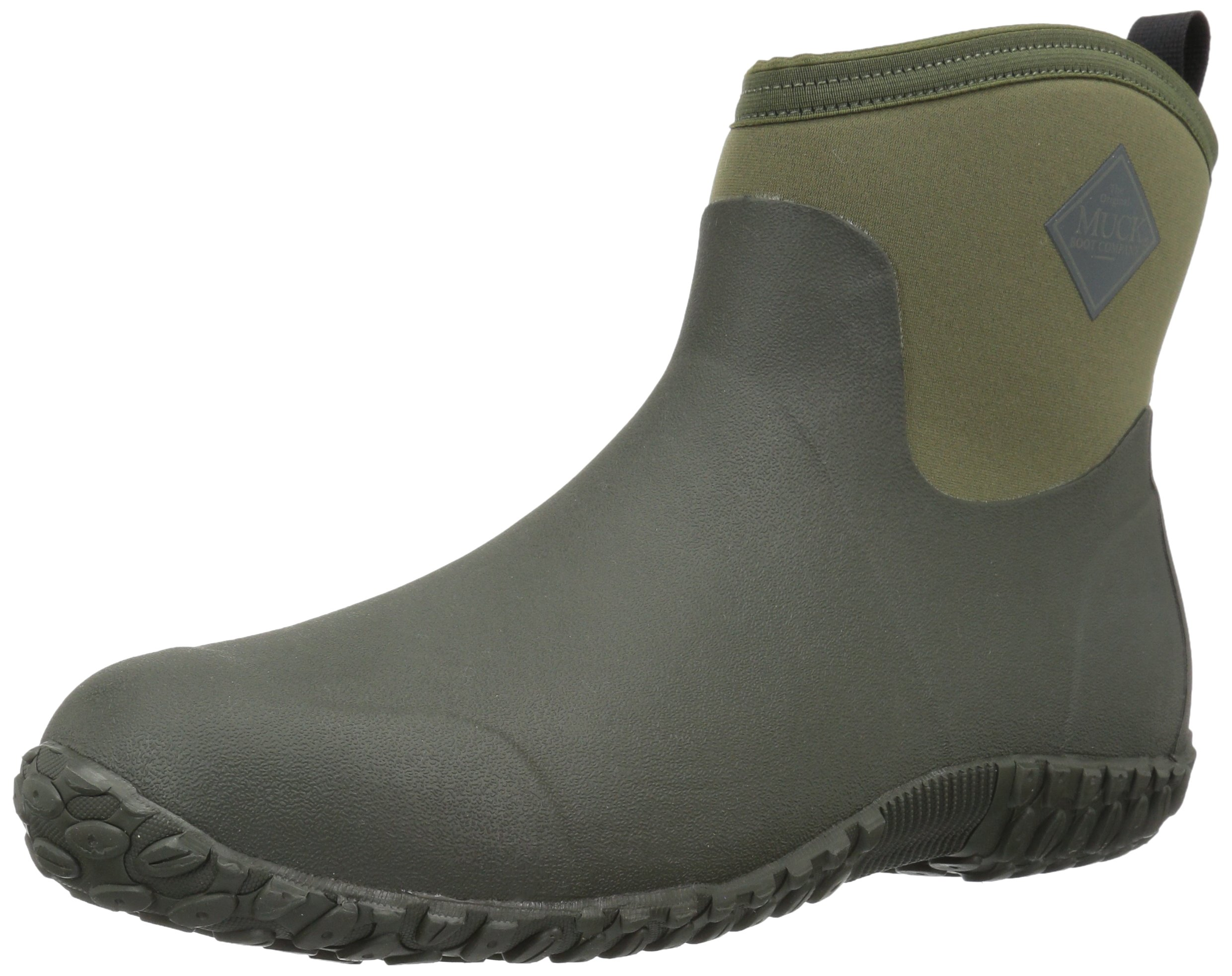 Muckster ll Ankle-Height Men's Rubber Garden Boots,Moss/Green,7 M US by Muck Boot