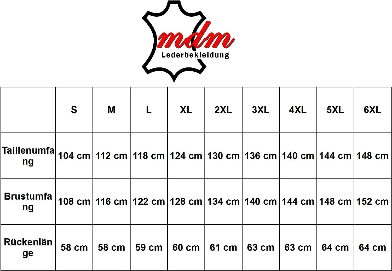 MDM Motorradweste mit Druckkn/öpfe
