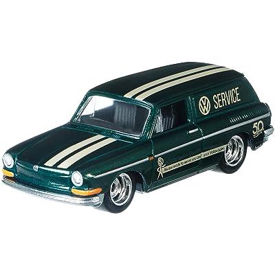 Hot Wheels 50th Anniversary Favorites 69 Volkswagon Squareback Vehicle: Toys & Games