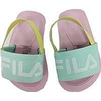 Fila Infant Logo Rubber Slide with Strap