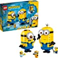 LEGO Minions: Brick-Built Minions and Their Lair (75551) Building Kit for Kids, Great Birthday Present for Kids Who Love Minion Toys and Kevin, Bob and Stuart Minion Characters, New 2020 (876 Pieces)