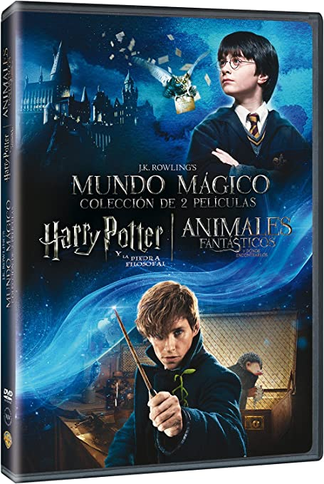 Dúo Harry Potter 1 + Animáles Fantásticos [DVD]: Amazon.es: Daniel ...