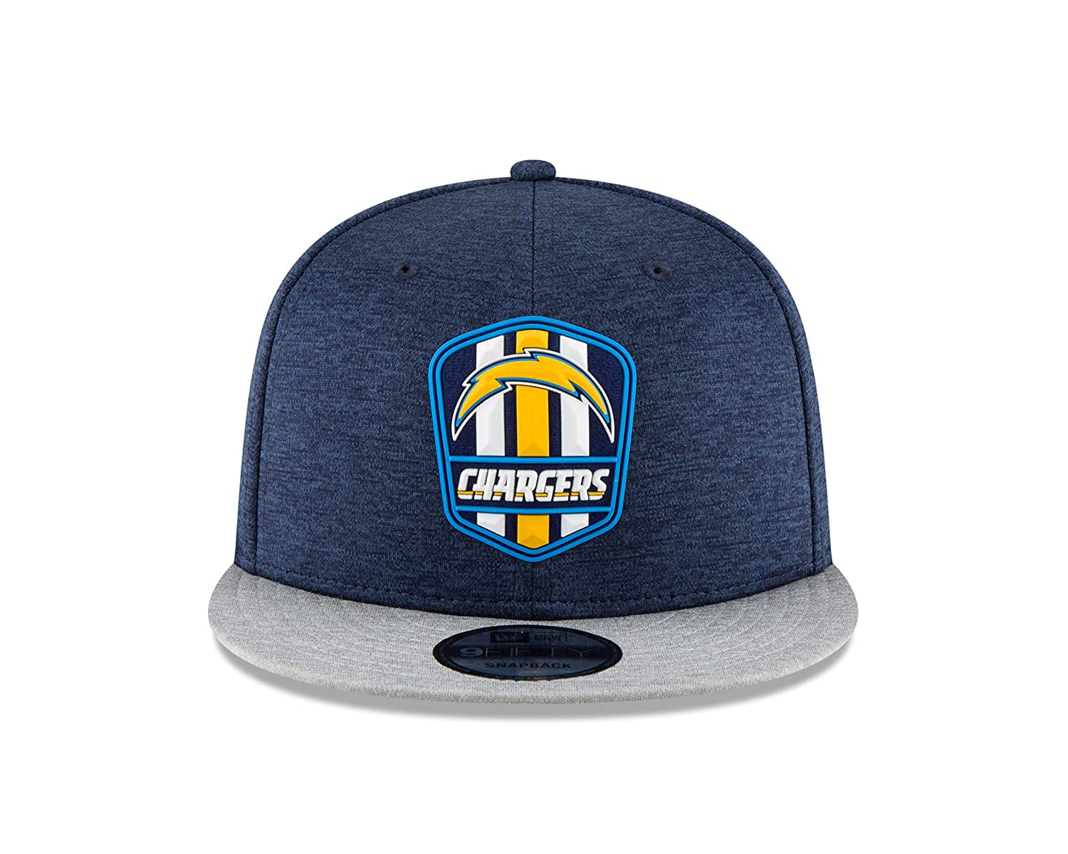 cheap for discount f92c2 5c91d Amazon.com   New Era Los Angeles Chargers 2018 NFL Sideline Road Official  9FIFTY Snapback Hat   Sports   Outdoors