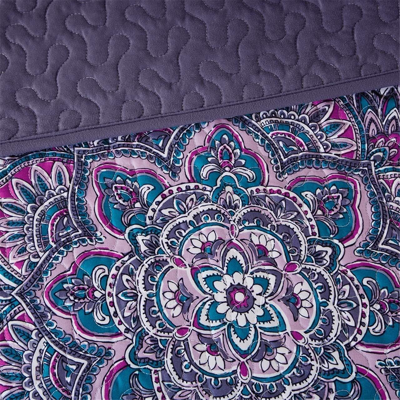 Mila Coverlet Set Purple Full//Queen