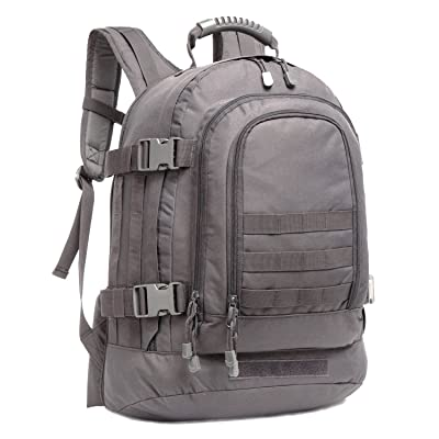 PANS Military Outdoor Backpack,Expandable Tactical Backpack,Two Size of Loading Space,DIY System for Travel,Camping,Hunting,Trekking and Hiking