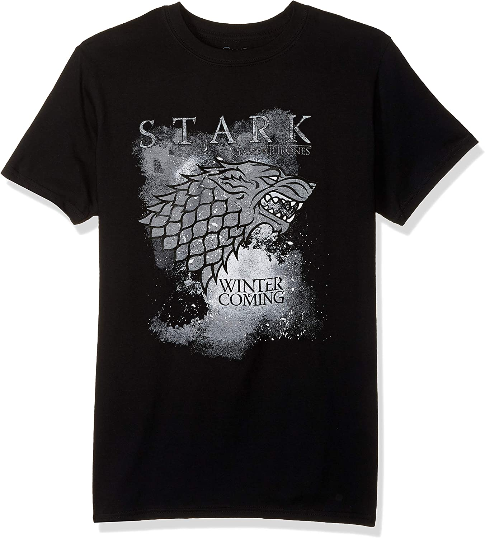 Kids/' t-shirt Winter is coming Stark Game of Thrones Ghost Direwolf