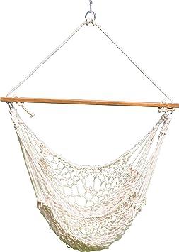 Hangit Cotton Rope Swing Hammocks for Garden Home Indoor