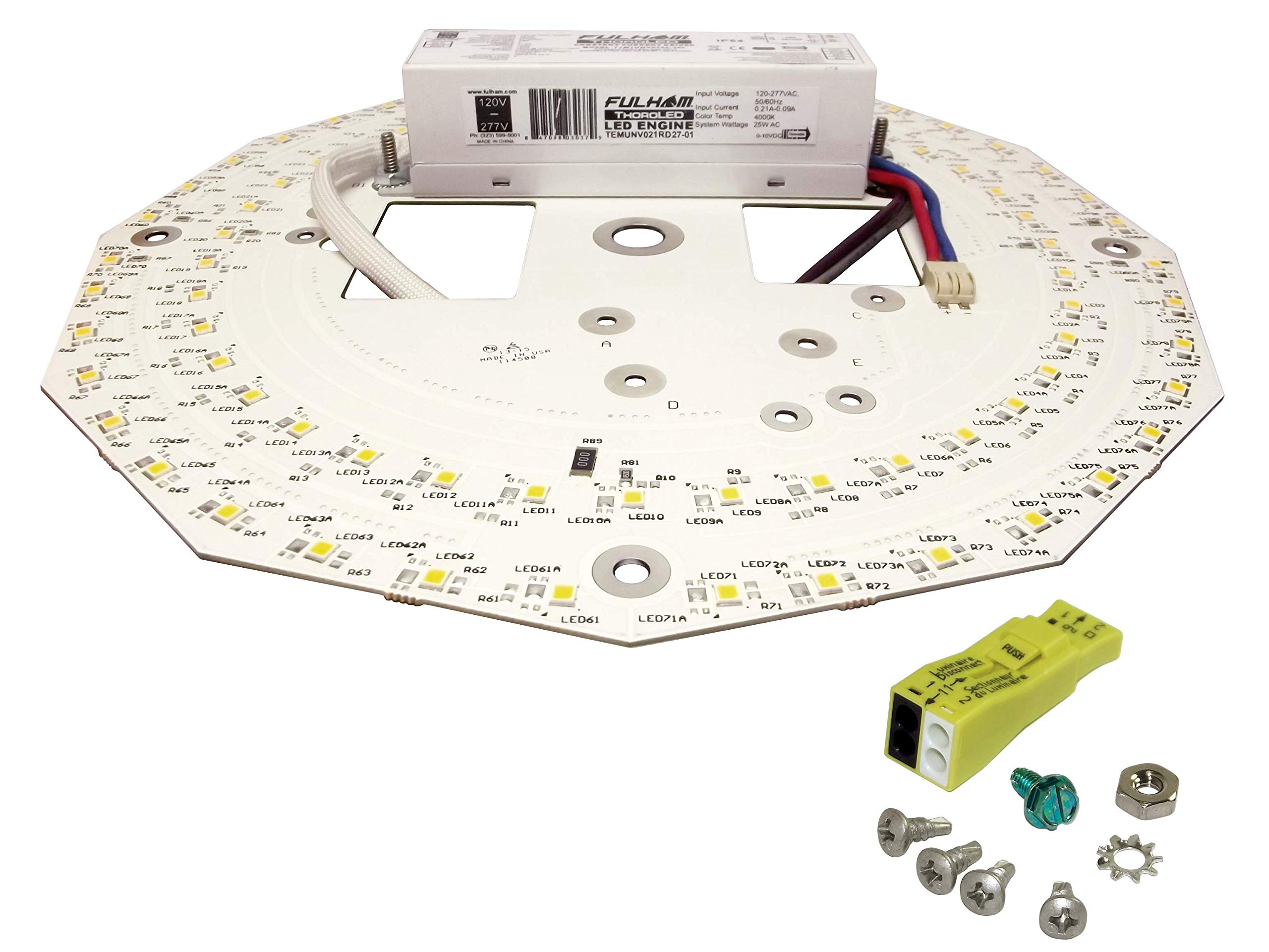 Fulham Lighting CWH3-120-C Canada Series-Workhorse 3-120V-Compact Model with Side Leads