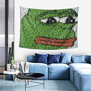 Yerolor Sad pe-pe Collage Tapestry Wall Hanging Anime Tapestries Wall Art Wall Tapestry Home Decoration for Bedroom Living Room Dorm (40 x 60 inches)