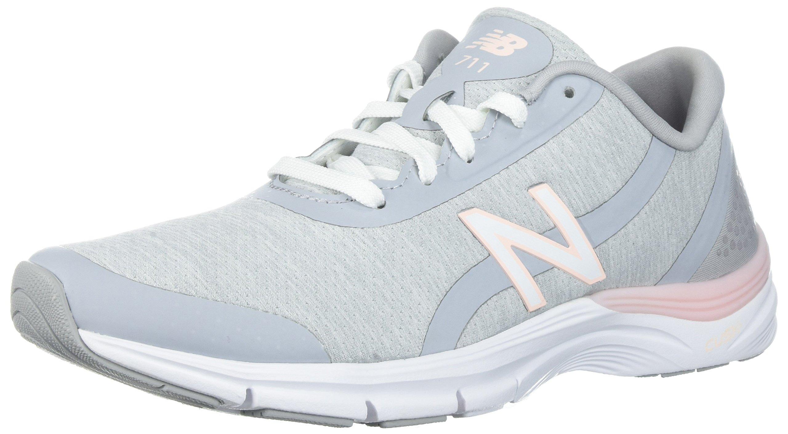 New Balance Women's 711v3 CUSH + Training Shoe, White, 11 B US