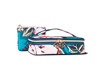 Amazon Com Sonia Kashuk Small Train Case Makeup Cosmetic Bag