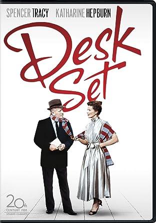 Desk set Spencer Tracy Katharine Hepburn movie poster