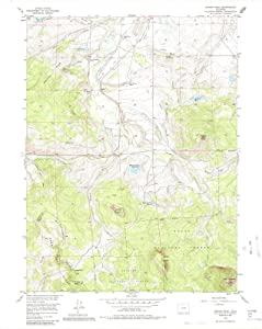 1956 Spicer Peak, CO - Colorado - USGS Historical Topographic Map : 44in x 55in