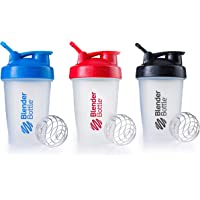 Blender Bottle Classic Loop Top Shaker Bottle, Colors May Vary, 28-Ounce 2-Pack