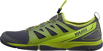 Aquapace 2, Chaussures de Voile Homme, Gris (800 Mid Grey/Charcoal Lime), 42.5 EUHelly Hansen